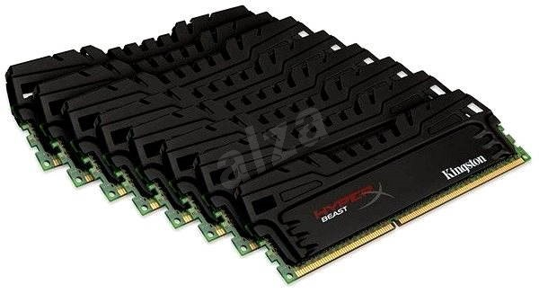 Kingston 64GB KIT DDR3 2133MHz CL11 HyperX Beast Series - Operační paměť