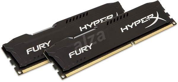 HyperX 8GB KIT DDR3 1600MHz CL10 Fury Black Series - Operační paměť