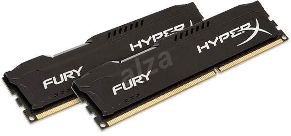HyperX 16GB KIT DDR3 1866MHz CL10 Fury Black Series - Operační paměť