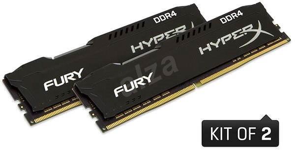 HyperX 32GB KIT DDR4 2666MHz CL16 Fury Black Series - Operační paměť