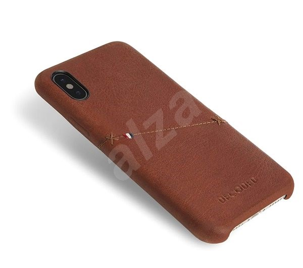 Decoded Leather Case Brown iPhone XS X - Ochranný kryt  846edb653e8