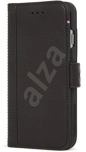 Decoded Leather Wallet Case Black iPhone 7/8/SE 2020 - Pouzdro na mobil