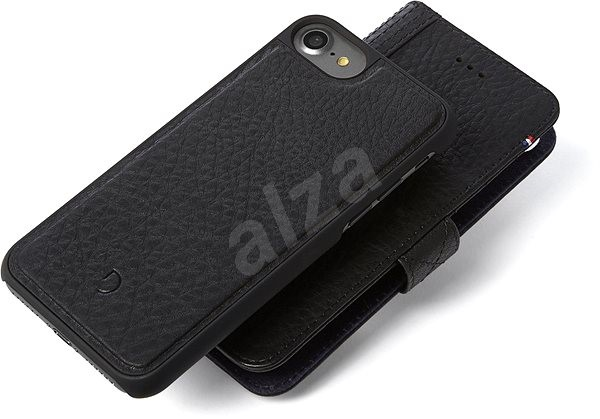 Decoded Leather 2in1 Wallet Case Black iPhone 7/8/SE 2020 - Pouzdro na mobil