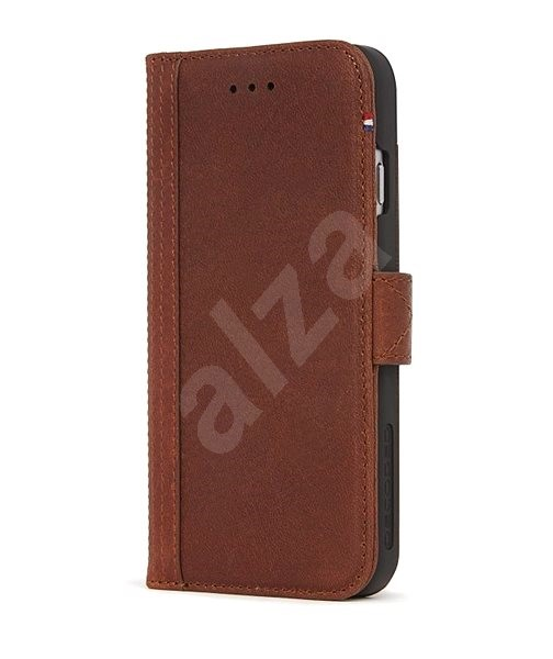 Decoded Leather Wallet Case Brown iPhone 7/8/SE 2020 - Pouzdro na mobil