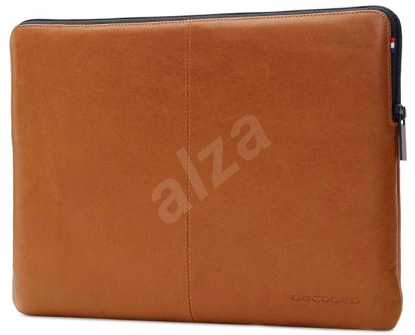 """Decoded Leather Slim Sleeve Brown MacBook 12"""" - Pouzdro na notebook"""