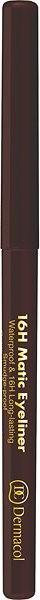 DERMACOL 16H Matic Eyeliner No.03 Brown 0,3 g - Tužka na oči