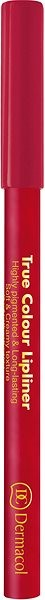 DERMACOL True Colour Lipliner No.01 2 g - Konturovací tužka