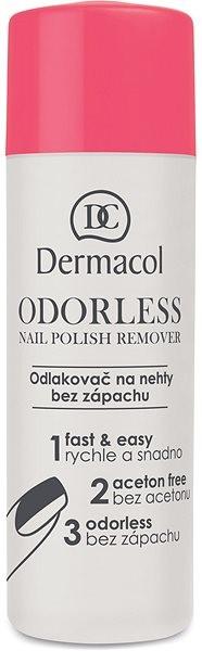 DERMACOL Odorless Nail Polish Remover 120 ml - Odlakovač na nehty