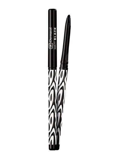 DERMACOL Matt Black Eyeliner  0,35 g - Tužka na oči