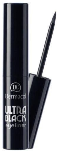 DERMACOL Dipliner Ultra Black - černá 2,5 ml - Oční linky