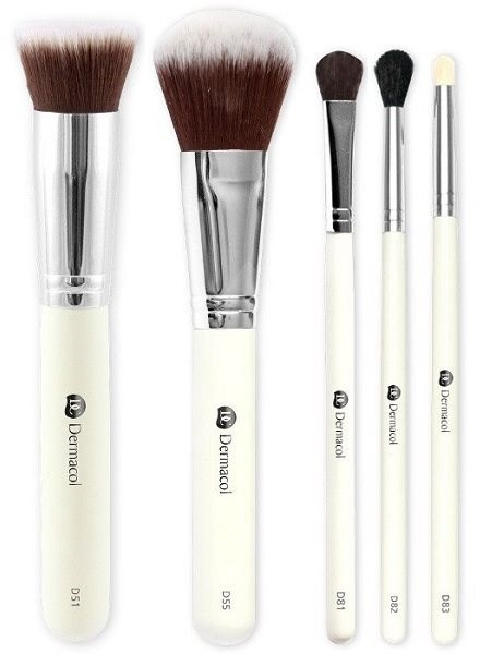 DERMACOL Master Brush by PetraLovelyHair (D51, D55, D81, D82, D83) Set I. - Makeup Brush Set