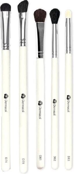 DERMACOL Master Brush by PetraLovelyHair (D73, D74, D81, D82, D83) Set II. - Sada kosmetických štětců