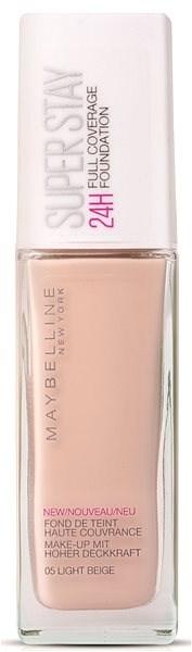 MAYBELLINE NEW YORK Super Stay 24H Full Cover Foundation 005 Light Beige 30 ml - Make-up