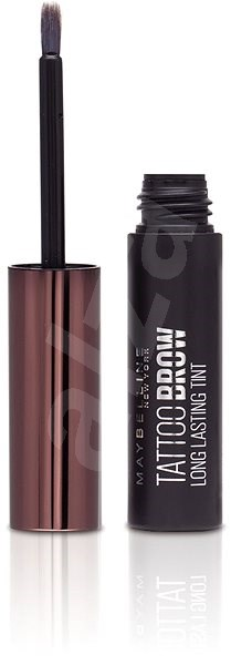MAYBELLINE NEW YORK Tattoo Brow Gel Tint 03 Dark Brown 4,6 g - Gel na obočí