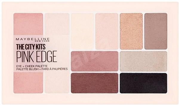 MAYBELLINE NEW YORK The City Kits Pink Edge Eye + Cheek Palette 16 g - Kosmetická paletka