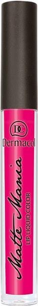 DERMACOL Matte Mania No.24 Liquid Lip Colour 3,5 g - Rtěnka