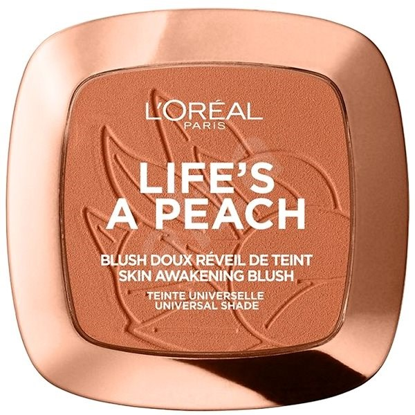 ĽORÉAL PARIS Wake Up & Glow Life's a Peach 9 g - Tvářenka