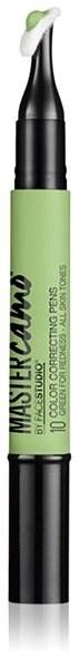 MAYBELLINE NEW YORK Master Camo 10 Green for Redness Color Correcting Pens 1,5 ml - Korektor