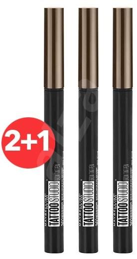 MAYBELLINE NEW YORK Tatto Brow Pen 120 Medium 4,6 g 2+1 - Tužka na obočí