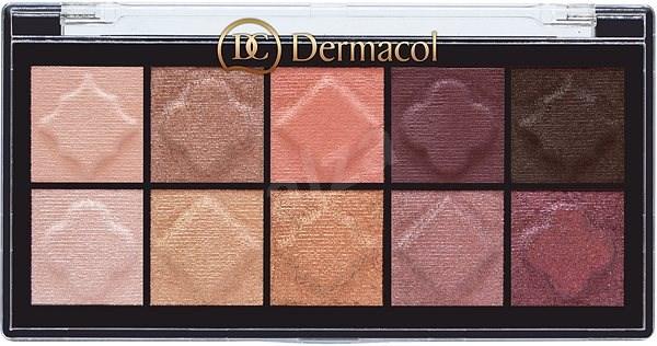 DERMACOL Eyeshadow Palette Matt and Pearl No.01 - Paletka očních stínů