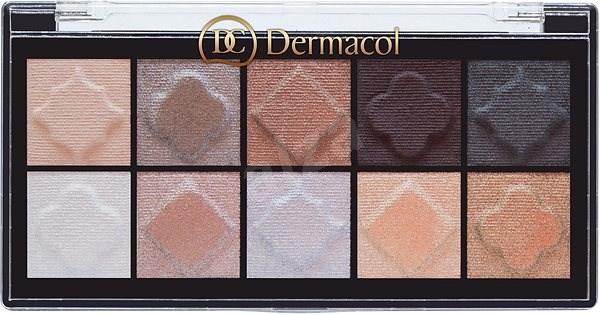 DERMACOL Eyeshadow Palette Matt and Pearl No.02 - Paletka očních stínů