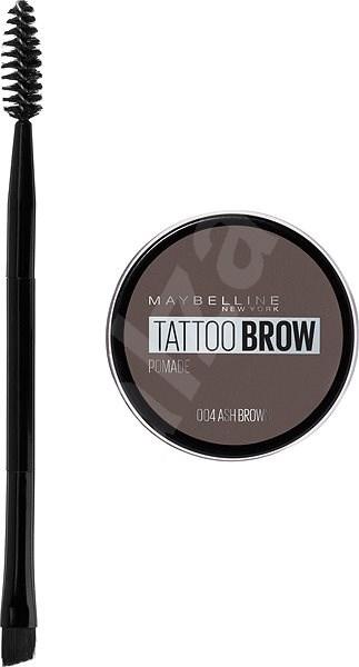 MAYBELLINE NEW YORK Tattoo Brow gelová pomáda na obočí 04 Ash Brown 4 g - Gel na obočí