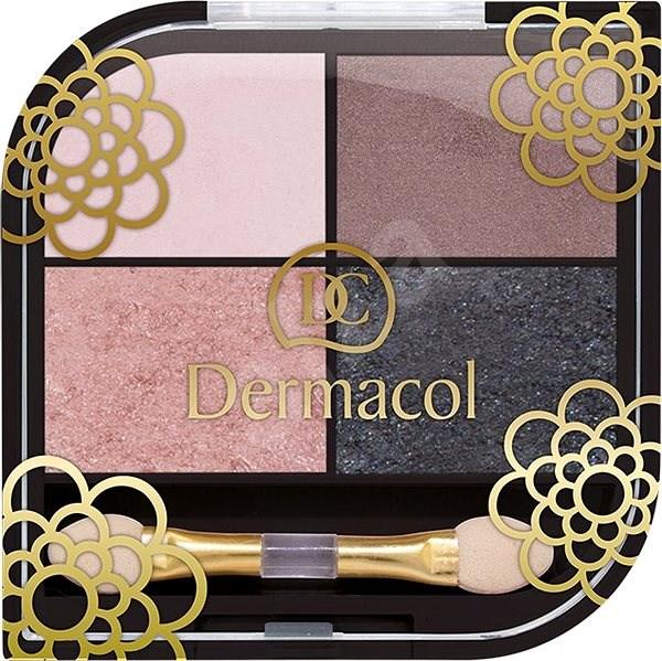 DERMACOL Quatro Eyeshadow No.02 8 g - Oční stíny