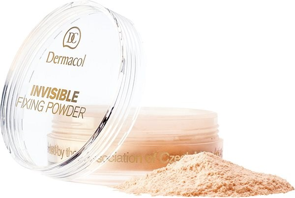 DERMACOL Invisible Fixing Powder Banana 13,5 g - Pudr