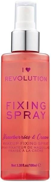 I HEART REVOLUTION Strawberries & Cream Fixing Spray 100 ml - Fixační sprej na make-up