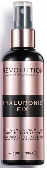 REVOLUTION Hyaluronic Fixing Spray 100 ml - Fixační sprej na make-up