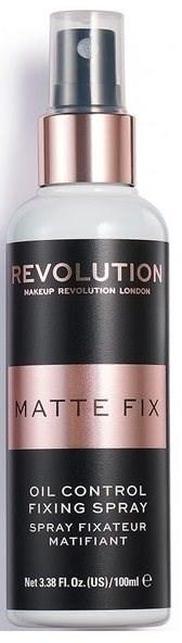 REVOLUTION Oil Control Fixing Spray 100 ml - Fixační sprej na make-up