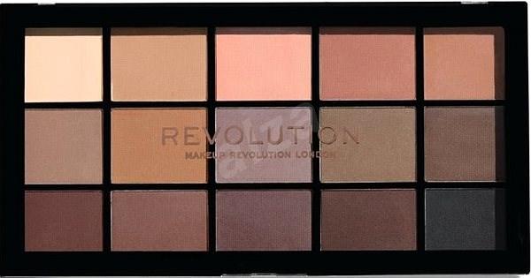 REVOLUTION Re-Loaded Basic Mattes 16,50 g - Paletka očních stínů