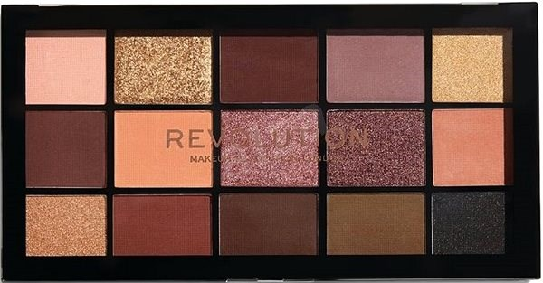 REVOLUTION Re-Loaded Velvet Rose - Paletka očních stínů