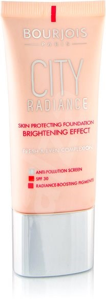 BOURJOIS City Radiance Foundation 01 Rose Ivory 30 ml - Make-up