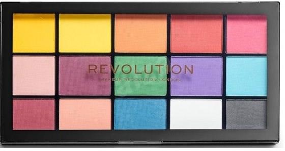 REVOLUTION Re-Loaded Marvellous Mattes 16,5 g - Paletka očních stínů