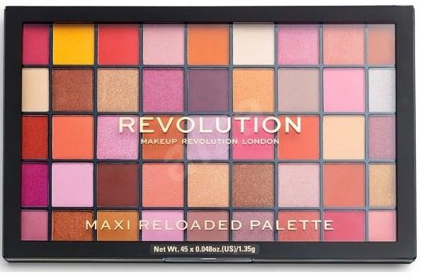 REVOLUTION Maxi Reloaded Palette Big Big Love 60,75 g - Paletka očních stínů