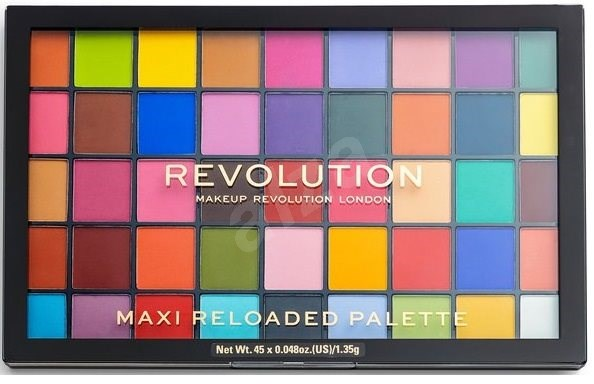 REVOLUTION Maxi Reloaded Palette Monster Mattes 60,75 g - Paletka očních stínů