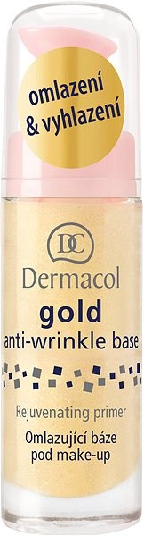 DERMACOL Gold Anti-Wrinkle Make-Up Base Rejuvenating Primer 20 ml - Podkladová báze