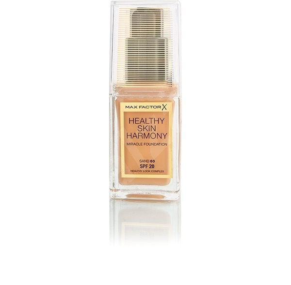 MAX FACTOR Healthy Skin Harmony Miracle Foundation SPF20 60 Sand 30 ml - Make-up