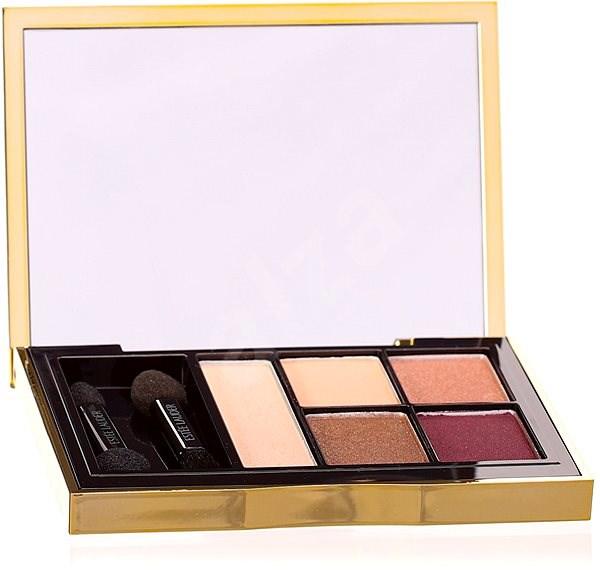 ESTÉE LAUDER Pure Color Envy Sculpting Eyeshadow 5-Color Palette 06 Currant Desire 7 g - Paletka očních stínů