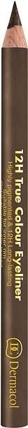 DERMACOL 12H True Colour Eyeliner No.9 - Tužka na oči