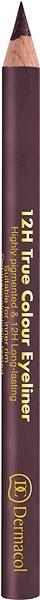 DERMACOL 12H True Colour Eyeliner No.10 - Tužka na oči