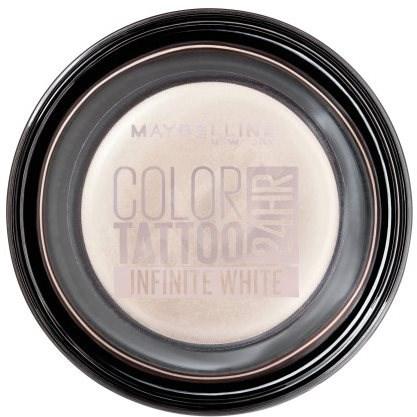 MAYBELLINE NEW YORK Color Tattoo Eye Shadow  45 Infinite white - Oční stíny