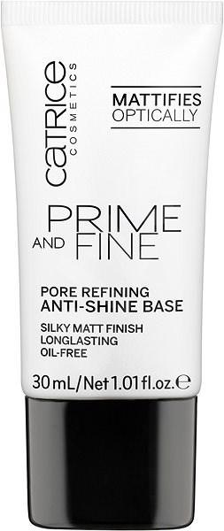 CATRICE Prime And Fine Pore Refining Anti-Shine Base 30 ml - Podkladová báze