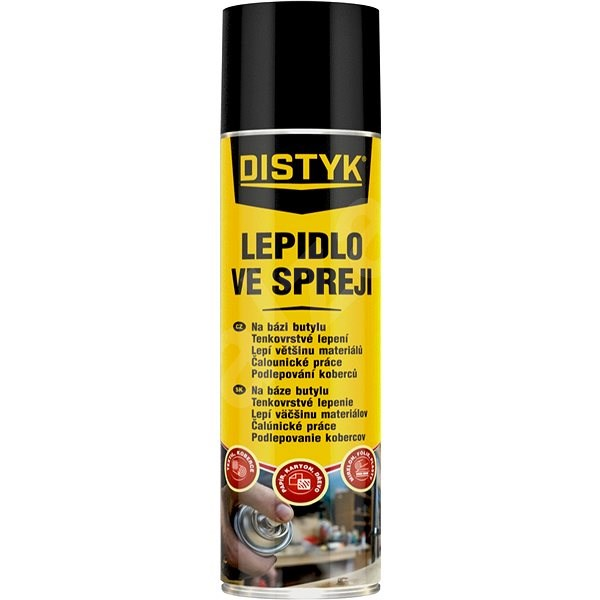 Den Braven Distyk Lepidlo ve spreji 400ml - Lepidlo