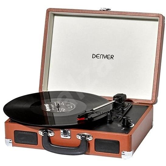 Denver VPL-120 brown - Gramofon