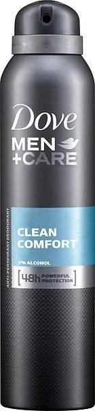 DOVE Men+Care Clean Comfort 150 ml - Pánský antiperspirant