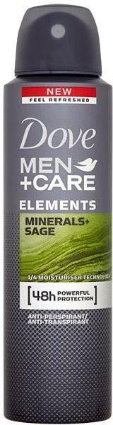 DOVE Men+Care Minerals & Sage 150 ml - Pánský antiperspirant