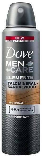 DOVE Men+Care Talc Minerals & Sandalwood 150 ml - Pánský antiperspirant