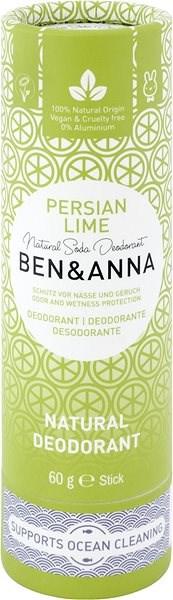 BEN&ANNA Deo Persian Lime 60 g - Dámský deodorant